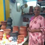 Kausalya starts her pottery business at 70. Opens her own shop at Chitrakulam West Street