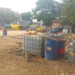Chennai Metro takes over part of playground in R. A. Puram. Youth complain