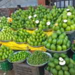 Andhra avakkai mangoes are selling hot in Mylapore