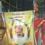 In Mandaveli, BJP supporters celebrate Modi's swearing-in