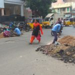 Metro Water's work at East Mada Street creates chaos for pedestrians and motorists
