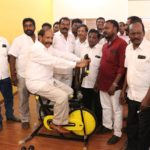 MLA opens gym on San Thome High Road