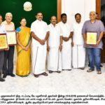 Mandaveli colony group given award by chief minister for its civic project