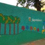 Wall painting at St. Francis Xavier school, Alwarpet