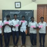 Boys of Raja Muthiah school enjoy activity based learning