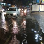 Mylapore receives heavy rain but water stagnates in some areas