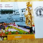 Special postal cover on Athi Varadar on sale at Mylapore Head Post Office