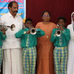 MLA donates to school band for new instruments, uniforms