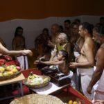 Kanchi Mutt head arrives at Sri Ashtika Samajam, Alwarpet