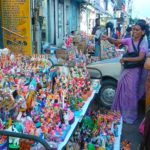 Hawkers start displaying golu dolls for Navarathri