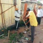 BJP cadres clean Chitrakulam zone as part of Swaach Bharat campaign