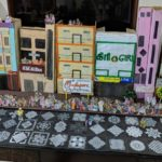 Kolam contest of Mylapore Festival is Ramya Mani's kolu theme, gets lots of appreciation for handwork