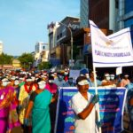 Gandhi Jayanti : Cleanliness drive held in Mylapore