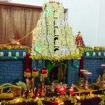 Brahmotsavam at Tirupati temple is theme kolu at this house: visitors welcome