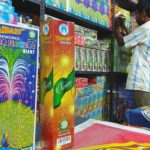 Deepavali: Firecracker sellers set up stalls in Mylapore