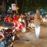 Traffic jams as people pack off for Deepavali