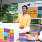Ramcharan's concert third and final one for Navaratri series in park