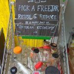 This store at Dr. Ranga Road offers facility to freecycle glass and ceramic containers