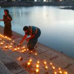 Karthigai celebration begins; lamps light up steps of tank of Sri Kapali Temple