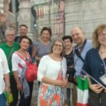 Tourists from Italy record Mylapore streetlife