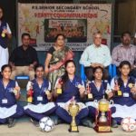 P. S. Senior girls win at CBSE national football tournament