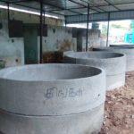 Compost yard to recycle waste set up alongside Mandaveli MRTS station