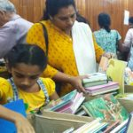Books are sold by weight at Sri Sankara Hall in Alwarpet