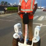 Smart vehicles launched to patrol service road in Marina