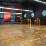 A new badminton facility comes to Dr. Radhakrishnan Salai