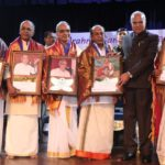 Five senior artistes given awards at launch of Brahma Gana Sabha's festival