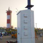Chennai Corporation starts installing 'Smart Poles' at Marina