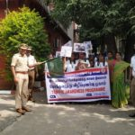 Students of Children's Garden School mark Road Safety Week