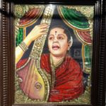 New shop at North Mada Street sells Thanjavur paintings created by traditional artists