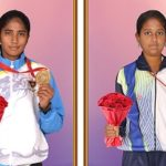 Lady Sivaswami school girls win medals at sports meets