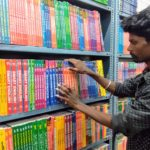 Stationery shop on Mada Street also sells school, college textbooks, guides
