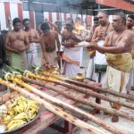 Panguni fest: pandal kaal event held at Sri Kapali Temple