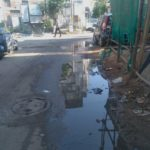 This sewage overflow in Chitrakulam colony keeps recurring, polluting