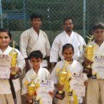 Vidya Mandir students win at state level karate championship