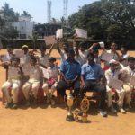 Vidya Mandir's cricket team are runners up at inter school tournament