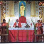 Archbishop celebrates Palm Sunday Mass at heritage church in Luz