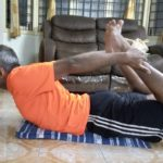 How to exercise indoors. Venkataraman of R. A. Puram shares his routine