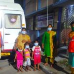 Chennai Corporation rescues woman and her children sheltered under T. T. K. Road bridge