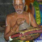 84 year old K. Veera Raghava Bhattar of Sri Adhi Kesava Perumal Temple passes away