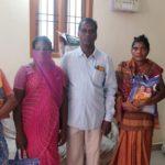 Members of St. Luke's Church at Mandaveli donate to the needy