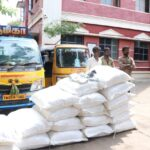 Police arrest three, seize loads of banned substance