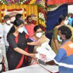 Remembering DMK leader Karunanidhi on his death anniv: Kanimozhi's gesture