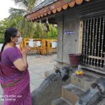 Sri Ayyappa Swamy Temple is unusually quiet nowadays. Regulations in place.