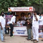 DMK cadres in neighbourhood campaign for new members
