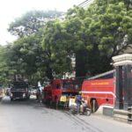 Fire breaks out in office complex in Alwarpet