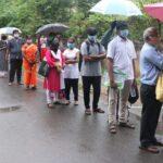P. S. Senior school zone abuzz as NEET test aspirants gather at venue